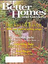 Better Homes and Gardens May 1999