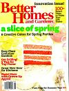 Better Homes and Gardens May 2012