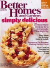 Better Homes and Gardens November 2012