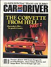Car and Driver June 1989