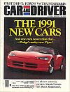Car and Driver October 1990