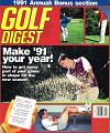 Golf Digest January 1991