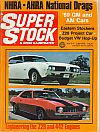 Super Stock & Dragster Illustrated November 1968