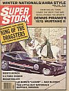 Super Stock & Dragster Illustrated April 1978