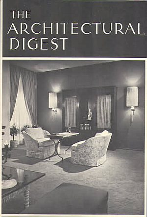 Architectural Digest Spring 1964