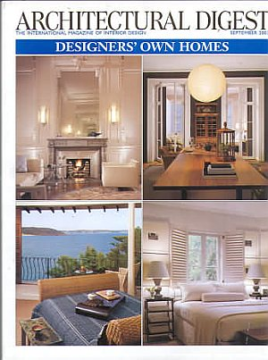 Architectural Digest September 2003