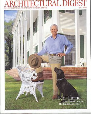 Architectural Digest July 2004