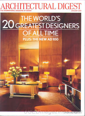 Architectural Digest January 2010