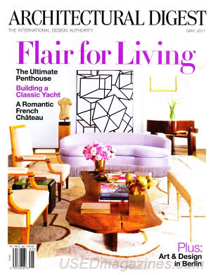 Architectural Digest May 2011