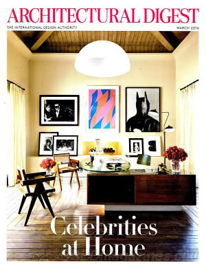 Architectural Digest March 2016