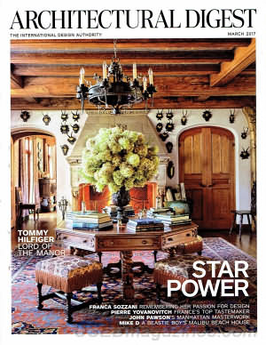 Architectural Digest March 2017