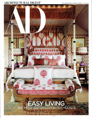Architectural Digest July 2017