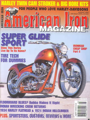American Iron August 2001