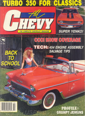 All Chevy October 1988