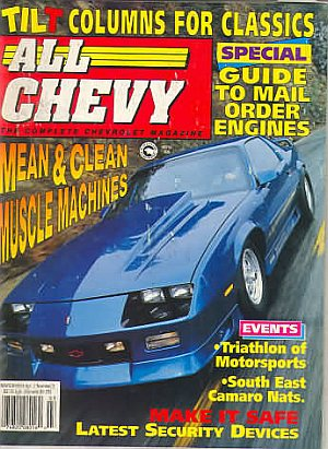 All Chevy March 1993