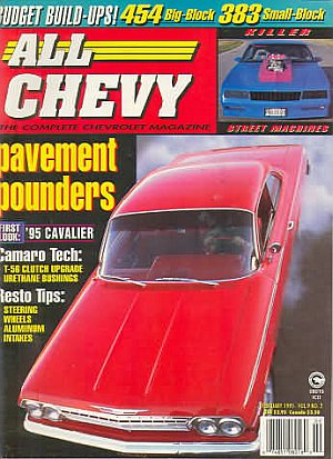 All Chevy February 1995