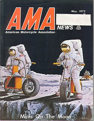 American Motorcycle Association News May 1972