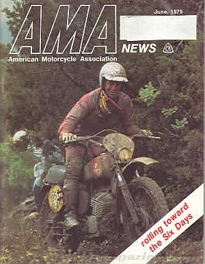 American Motorcycle Association News June 1975