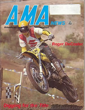 American Motorcycle Association News September 1975