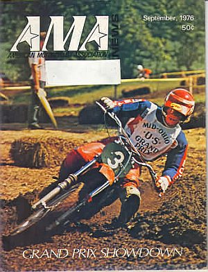 American Motorcycle Association News September 1976