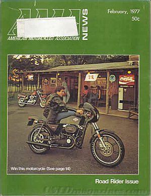 American Motorcycle Association News February 1977