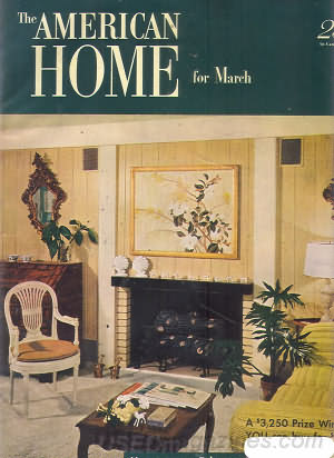 American Home March 1952