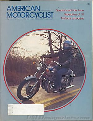 American Motorcyclist February 1978