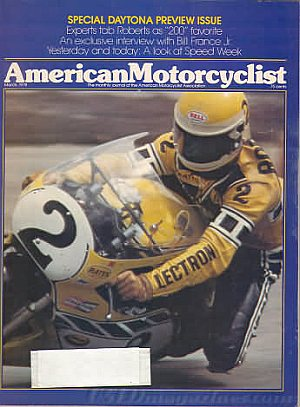 American Motorcyclist March 1978