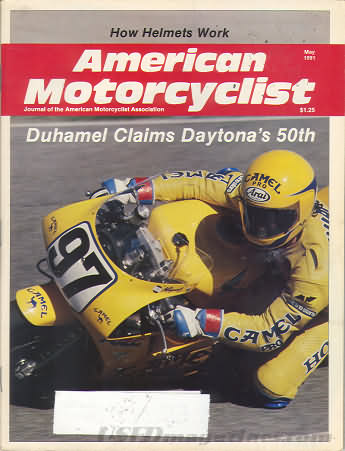 American Motorcyclist May 1991