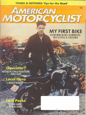 American Motorcyclist April 1993