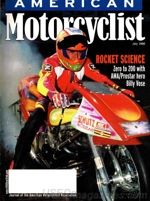 American Motorcyclist July 2000