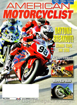 American Motorcyclist May 2006