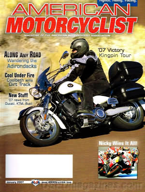 American Motorcyclist January 2007