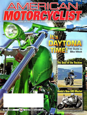 American Motorcyclist March 2007