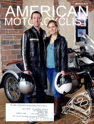 American Motorcyclist March 2014