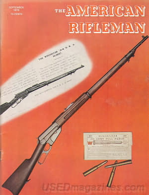 American Rifleman September 1970
