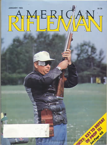 American Rifleman January 1983