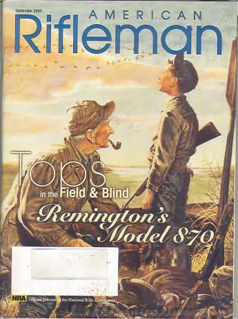 American Rifleman September 2003