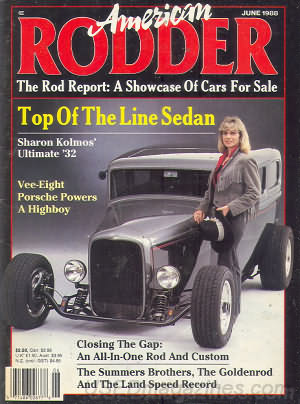 American Rodder June 1988