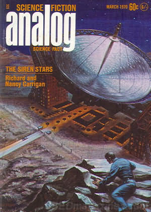 Analog Science Fact & Fiction March 1970