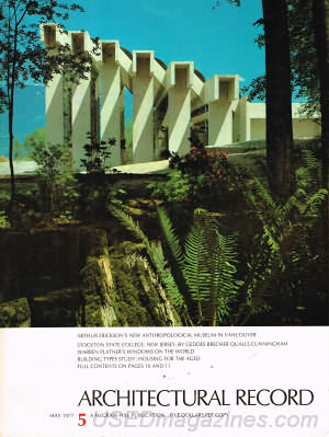 Architectural Record May 1977
