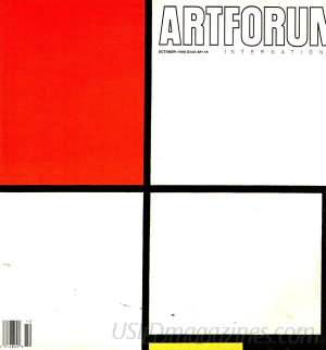 Artforum October 1995