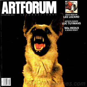 Artforum October 2001