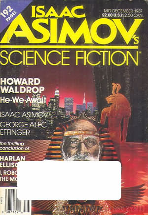 Asimov's Science Fiction Mid December 1987