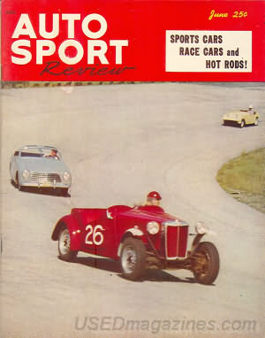 Auto Sport Review June 1952