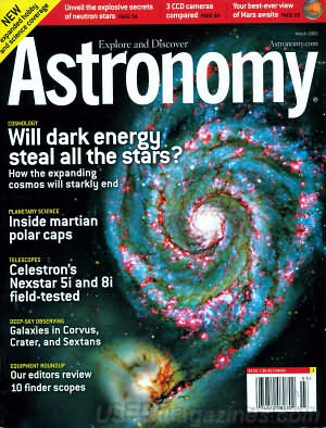 Astronomy March 2003