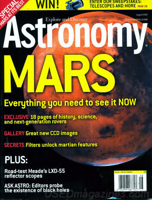 Astronomy August 2003