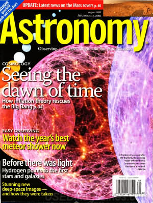 Astronomy August 2005