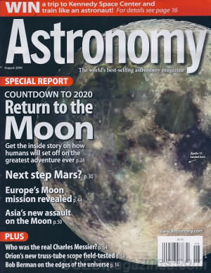 Astronomy August 2009