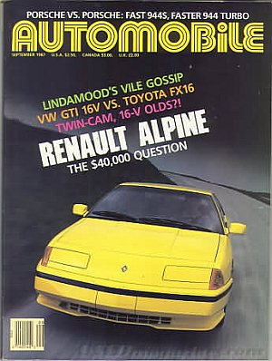 Automobile September 1987